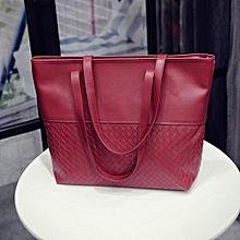 Women Handbag Shoulder Tote Satchel Large Messenger Bag Purse RD- Red