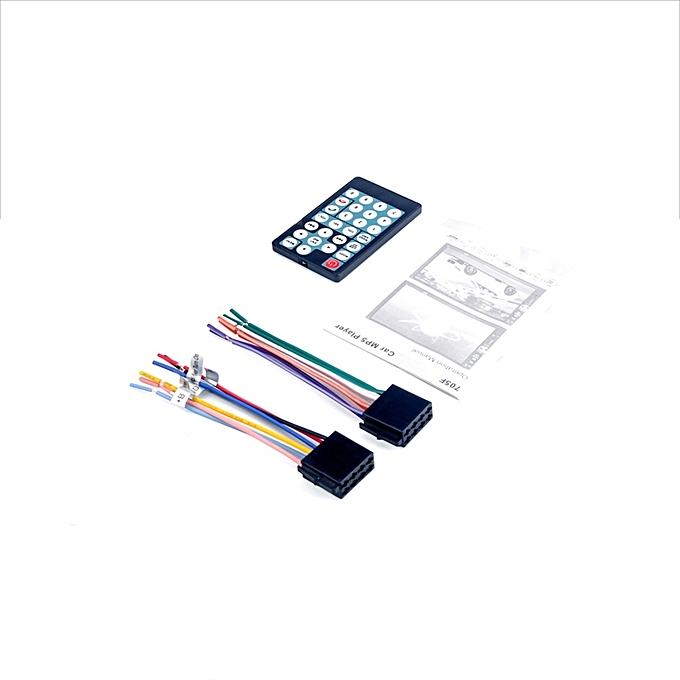 Leadsmart 7018B 7 Inch Bluetooth V2.0 12V Car Audio Stereo MP5 Player on