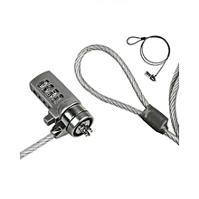 Security Combination Cable Lock for Laptop Notebook
