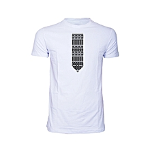 White Aztec T-shirt