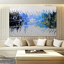 48f912fe717 Abstract Large Art Oil Painting Hand Painted Canvas Print Wall Home Decor  Framed