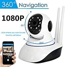 1080P Wireless Wifi Pet Baby Monitor Panoramic Night Vision Alarm IP CCTV Camera
