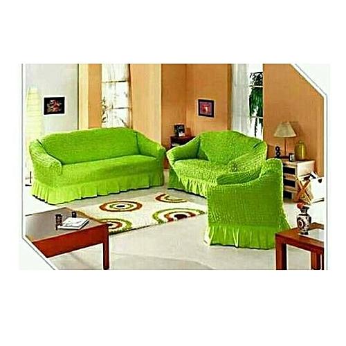 Generic Sofa Seat Covers 3 2 1 1 Light Green Best