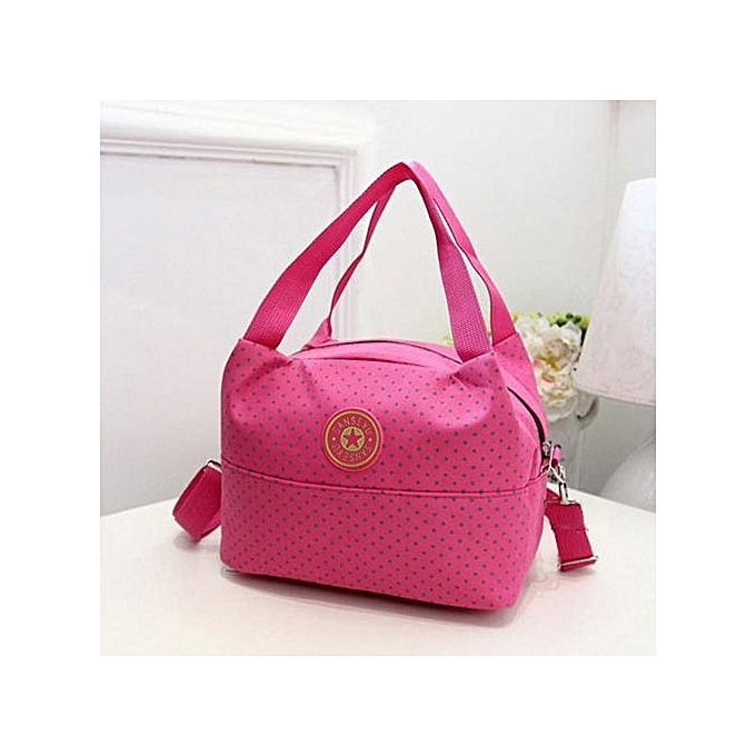 0393d7bf3e bluerdream-Fashion Women Handbag Polka Dot Shoulder Bag Large Tote Ladies  Purse Hot- Hot