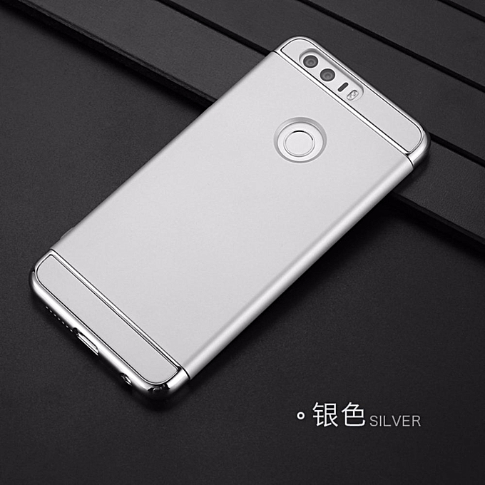 size 40 1afd0 ccbd5 3 in 1 PC Protective Back Cover Case For Huawei Honor 8 (Silver) AKENAO