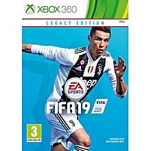 XBOX 360 Game FIFA 19 Legacy Edition