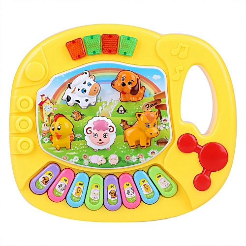 Toy Musical Instrument Kid Music Educational Farm Piano Baby Kid Funny Animal Piano Toy Fashion Music Instrument Developmental Toys For Children Gift We Have Won Praise From Customers Toys & Hobbies