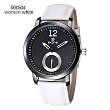 Men Brand Watches 30M Waterproof Leather Women Mens Watch Business Casual Fashion Quartz Watches Montre Homme