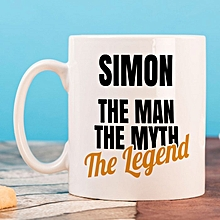 Personalised Standard Mug -The Man The Myth