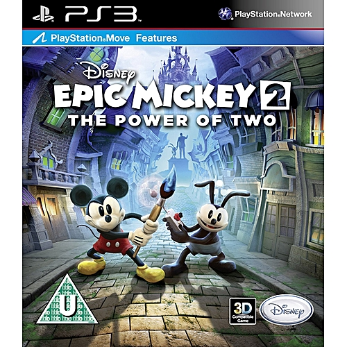 PS3 Game Disney Epic Mickey 2