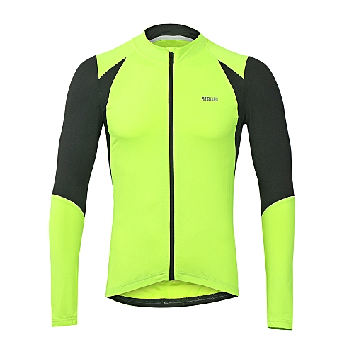 Generic Arsuxeo Outdoor Sports Men s Cycling Jersey Bike Bicycle Long Sleeve  Slim Fit Compression MTB Clothing Shirt Jersey f08a309d9