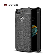 "For Lenovo S5 / K520 5.7"" Case Luxury Soft Silicon Litchi Striae Leather Case Coque Shock Proof Back Cover For Lenovo K520 Case"