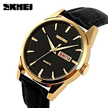 mens fashion casual watches quartz leather men clock relojes wristwatches relogio masculino date calendar watch