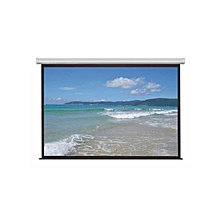 "84""*84"" Electric Projector Screen"