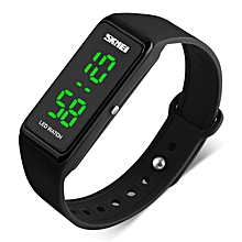 SKMEI 1265 LED Electronic Watches Casual Style Digital Sport Ladies Wrist Band