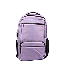 T-3319: 2018 New Arrival Tigernu Anti Theft Backpack USB nylon laptop backpack-Silver Grey