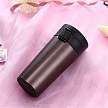 YKPuii 5 Colors 380ml Tea Coffee Mug Water Vacuum Cup Bottle Stainless Steel cup Sprots Water Bottle 17.5cm x 8cm