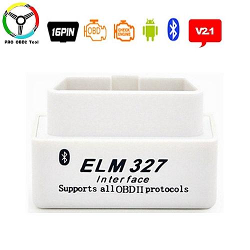 Mini ELM327 V2 1 Bluetooth 2019 OBD2 CAN-BUS Diagnostic Tool ELM 327 V2 1  Car Scanner Android OBDII Protocols