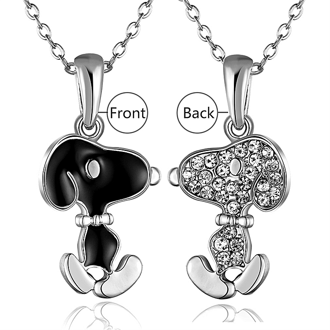 Buy allwin new cute for snoopy pendant rolo necklace women gift new cute for snoopy pendant rolo necklace women gift accessories platinum plating aloadofball Choice Image