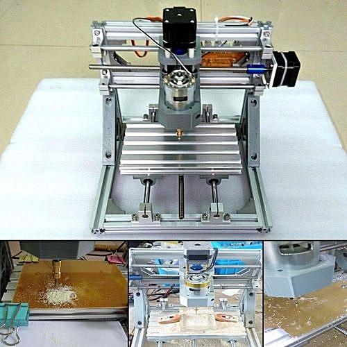 DIY-Mini-3-Axis-CNC-Router-Engraver-PCB-PVC-Milling-Wood-Carving-Machine  DIY-M