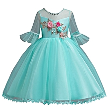 6f3892151a65 2026 Formal Princess Dress Girls Flower Tulle Dress Candy Color Kids Party  Pageant Wedding Dresses Ball