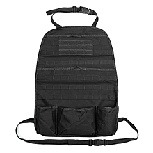 Tactical Car Seat Back Organizer Molle Multi Pockets Storage Bag Cover Protect