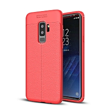 Shockproof Rubber Leather Back Case Cover For Samsung Galaxy S9 Plus