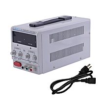 Home-Universal DC0-30V Power Supply Adjustable Dual Digital Variable Precision White