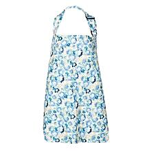Blue And Brown Ochird Print Nursing / Breastfeeding Cover
