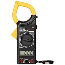 AC Digital Voltage Current Resistance Tester - Black