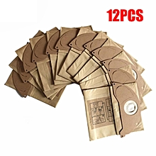 12X Vacuum Cleaner Bags Fits Karcher A2024PT A2054 WD2.200 WD3.500 Wet & Dry