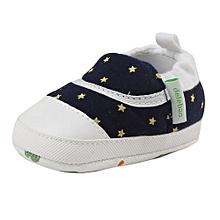 bluerdream-Baby Girl Boy Soft Infant Toddler Newborn Warming Shoes-Dark Blue