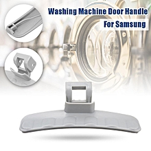 Washing Machine Door Lock Handle Part For Samsung Front Loader Gray 112mm