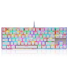 Motospeed K87S 87keys Blue Switch RGB Backlight Mechanical Gaming Wired Keyboard