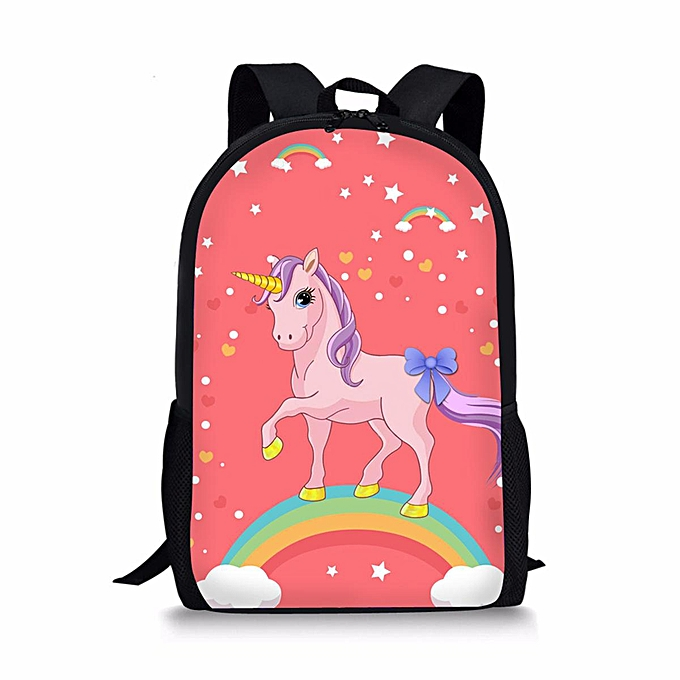 2795cbb2ee Small Kid Unicorn Backpack Girl Boy Children Cartoon School Bag Student  Handbag