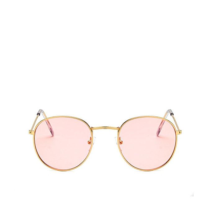 Buy Generic KEDUN Retro circular frames, sunglasses, colorful film ...