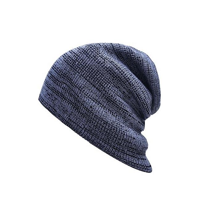 Eissely Men Women Winter Fluff Crochet Hat Wool Knit Beanie Warm ... 36ffeb4c5