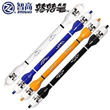 ZHIGAO ZG-5099 V18 Non Slip Coated LED Lamp Flashing Spinning Pen (Random Color) 20CM 1PC