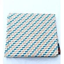 Multicoloured African Print Fabric(London Wax/ Light Cotton)