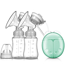 Safe USB Comfort  Double  Electric Breast Milk Bottle Pump