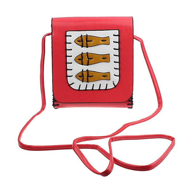 Buy Eissely New Cute Three Little Fish Bag Diagonal Package Shoulder