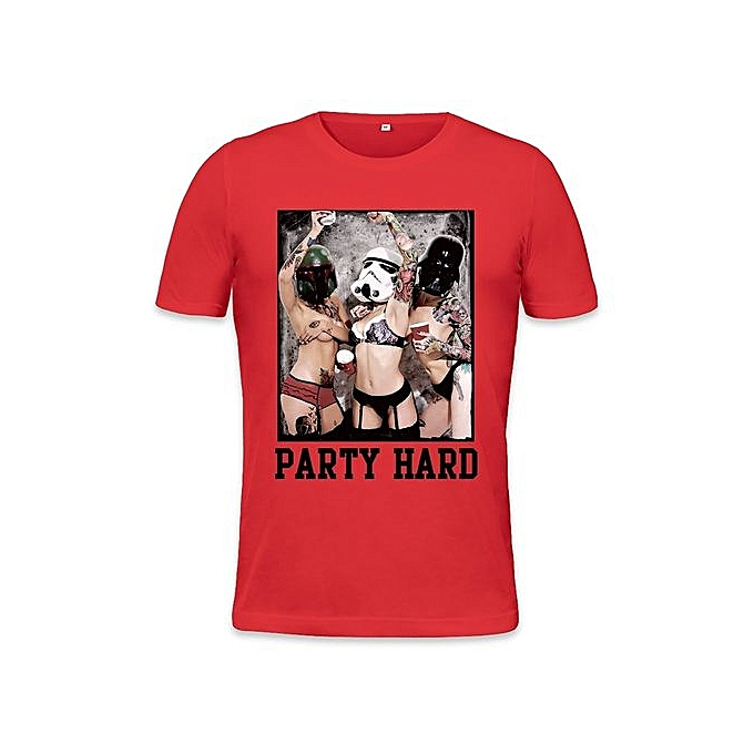31b71c3b Party Hard Sexy Hot Tattoo Girls Mens T-shirt Digital Print Clothing Fashion