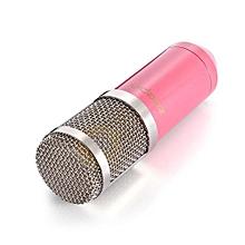 BM - 800 Professional Condenser Microphone Studio Broadcasting Recording-Pink