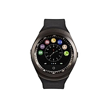 Smartwatch Y1 Sporty Smart Touchscreen Watch - Black