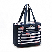 Flamingo Lunch Bag Picnic Insulation Ice Bag Cooler Insulated Lunch Bag Aluminum Film Lunch Box Bag