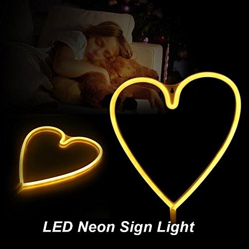 TMISHION USB Powered LED Neon Sign Light Wall Decor Lamp (Pink)