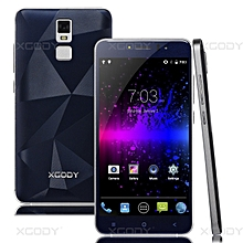 """4 Core 5.5""""un-locked 2 SIM T-Mobile 8GB Smartphone Android 5.1 Cell Phone-royal blue"""