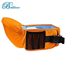 Ergonomic Babies Carrier Newborn Kid Pouch Infant With Sling_ORANGE YELLOW