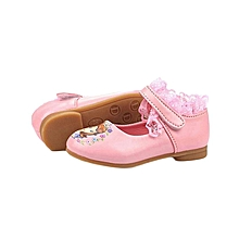 Cartoon Themed Doll Shoes- Pink