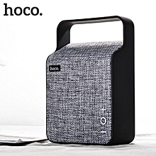 HOCO BS6 Bluetooth Portable Stereo Speaker Grey LBQ